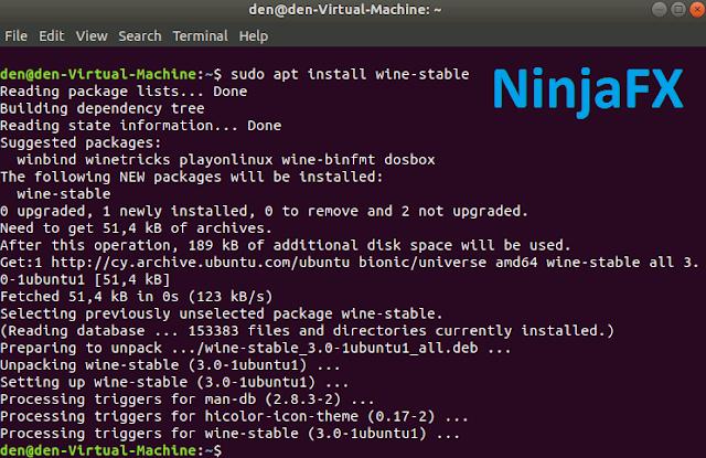 Cara instal MetaTrader 4 Linux