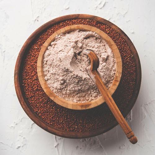 ragi flour in marathi