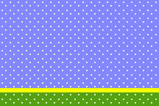 Purple, Yellow and Green with Withe Polka Dots: Free Printable Quinceanera Invitations.