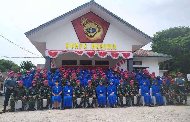 Danpasmar- I Tatap Muka dengan Prajurit Petarung Yonmarhanlan IV Tanjungpinang
