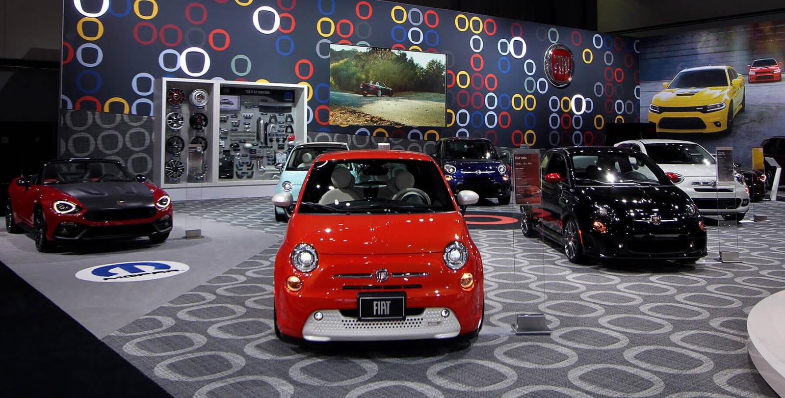 Fiat Sales For August Fiat USA - Detroit car show august 2018