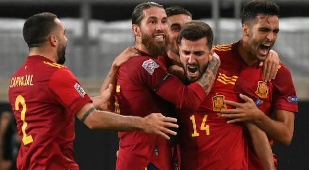 Hasil Pertandingan Spanyol vs Ukraina