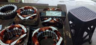 Washing machine motor winding data in Hindi|स्पिनर मोटर वाइंडिंग डाटा कएल टर्न हिंदी.