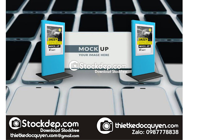 Download Mockup display stock free