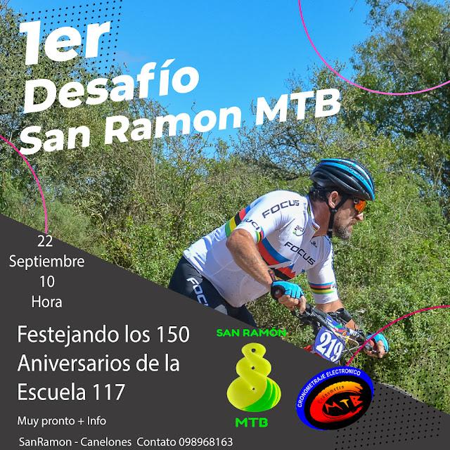 MTB - Primer Desafío San Ramón (Canelones, 22/sep/2019)