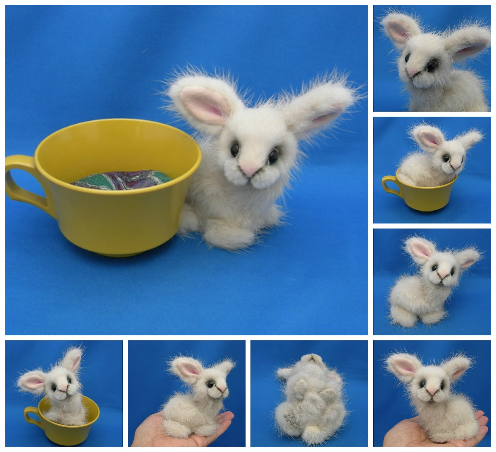 Designed By Kathy Myers: Tiny Teacup Bunnies
