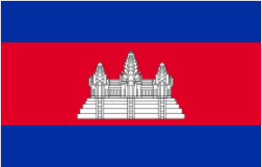 gambar bendera kamboja