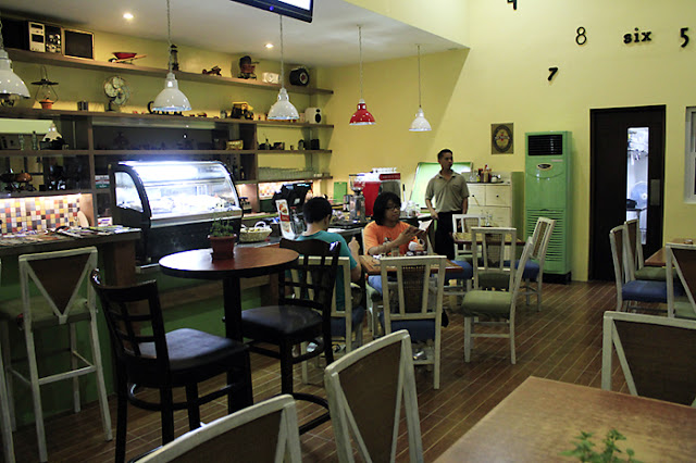 Restaurant Interior of Alexei's Diner & Cafe