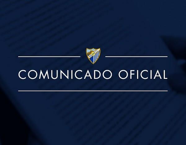 El Málaga lanza un comunicado refiriéndose a la Superliga