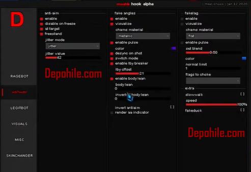 Counter Strike GO Matikhook Menu Headshot, Wallhack Hile 2020