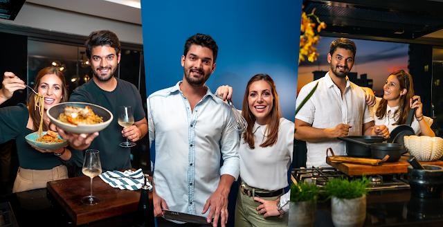 José Luiz e Ana Carolina estreiam à frente Do Pão ao Caviar