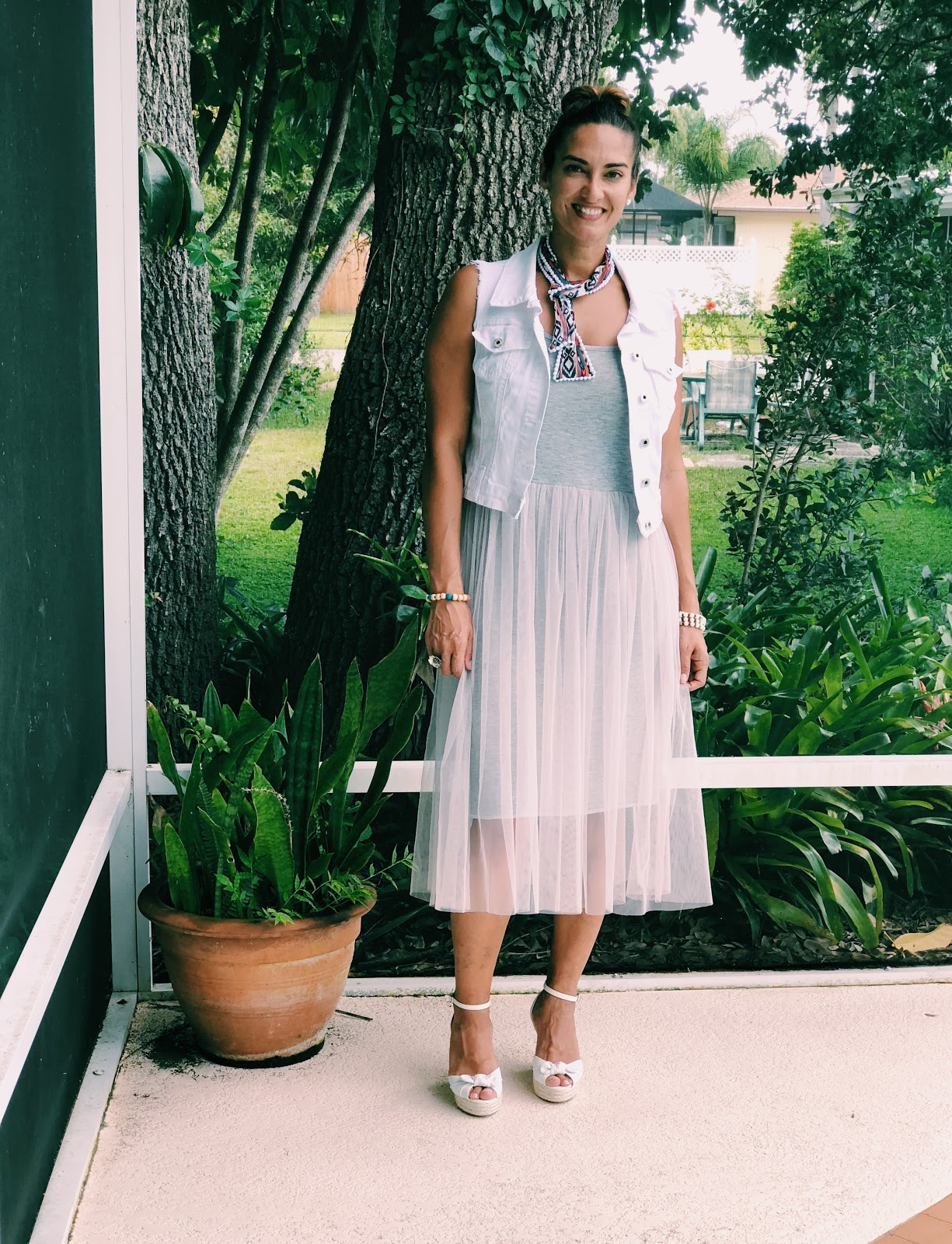4 Ways To Style A Tulle Layering Dress