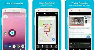 Aplikasi Screenshot Panjang - Screen Master