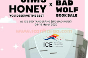 Promo Jims Honey Big Bad Wolf Book Sale Di ICE BSD Tangerang Periode 4 - 16 Maret 2020