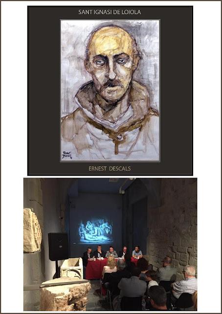 SANT IGNASI MALALT-PINTURA-ART-ARTISTA-PINTOR-ERNEST DESCALS-PRESENTACIO-LLIBRE-ARMAND ROTLLAN-
