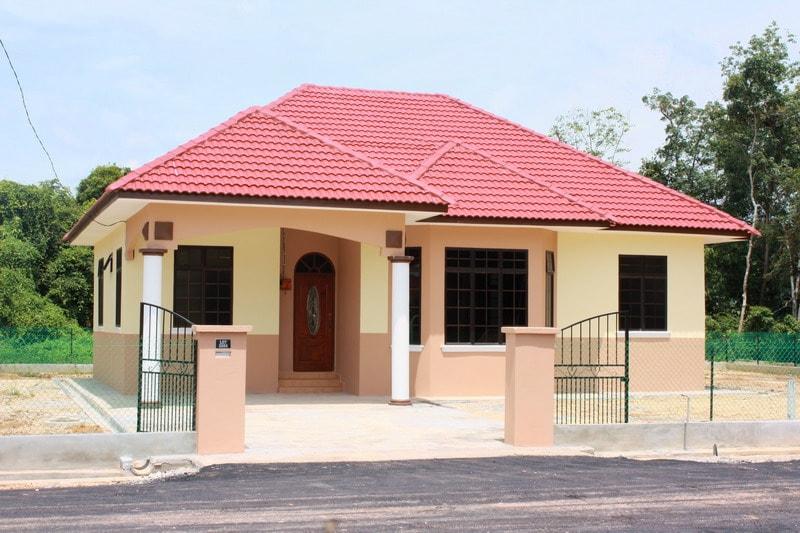 desain rumah kampung sederhana