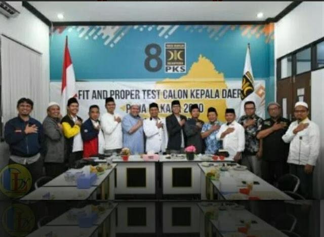 PKS dan Bandar Lampung Berjamaah memiliki Visi Misi yang sama untuk membangun Bandar Lampung Berjamaah