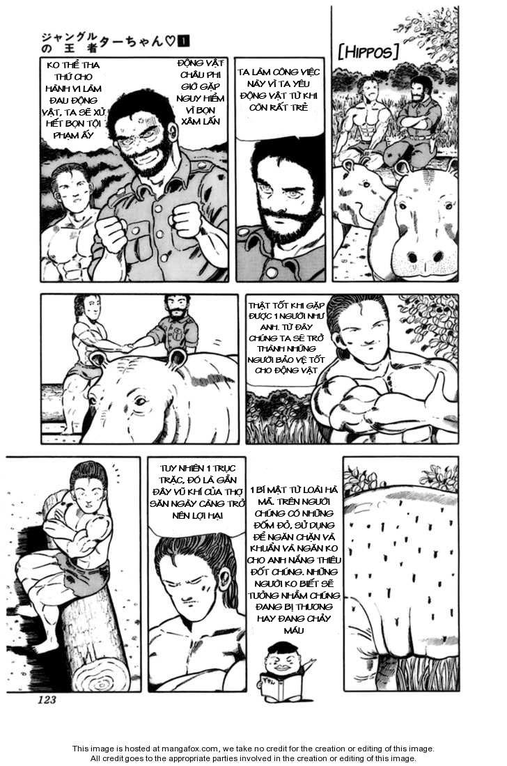 Chúa rừng Ta-chan chapter 16 trang 4
