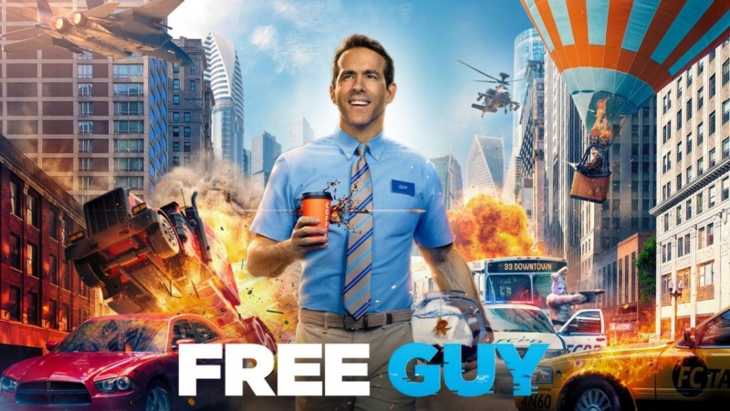 Free Guy, Comedy, Action, Adventure, Fantasy, Sci Fi, Movie Review by Rawlins, Rawlins GLAM, Rawlins Lifestyle