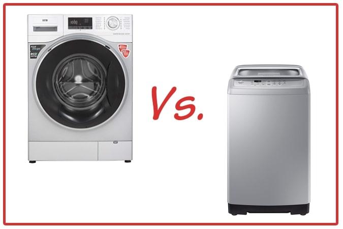 IFB Senator WXS (left) and Samsung WA70A4002GS (right) Washing Machines.