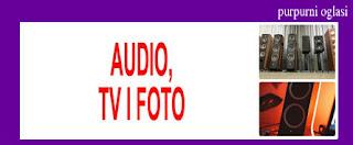 5. AUDIO, TV, FOTO PURPURNI OGLASI