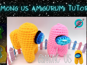 Tutorial among us amigurumi