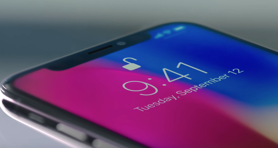 Squeezing your iPhone X will disable Face ID