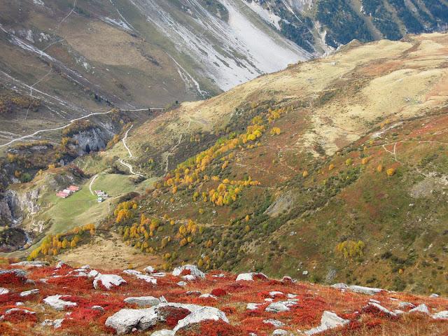 Randonnée en Vanoise à Pralognan cet automne