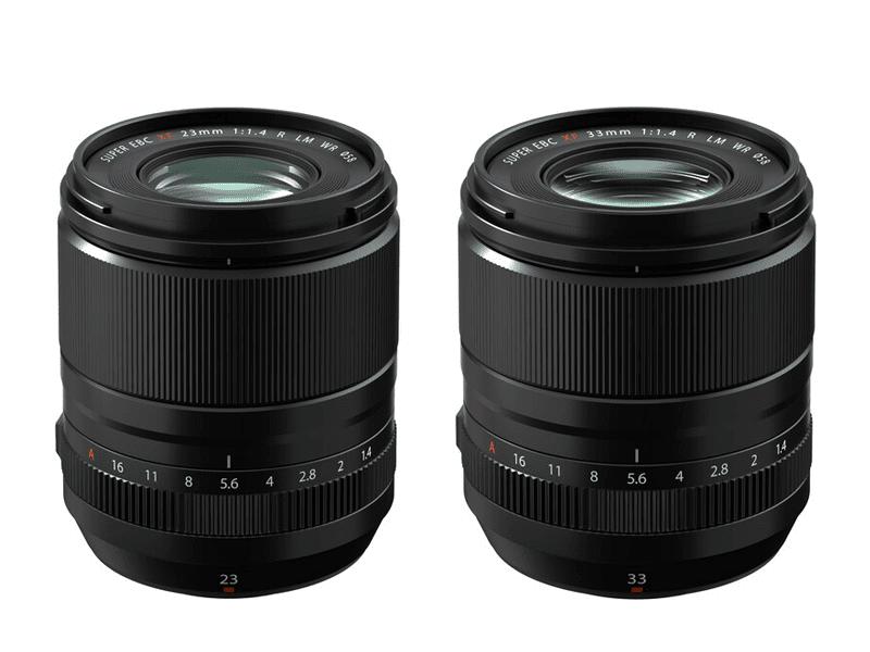 FUJIFILM announces new FUJINON XF23 F1.4 II, XF33 F.4 LM WR, and new lens roadmap!