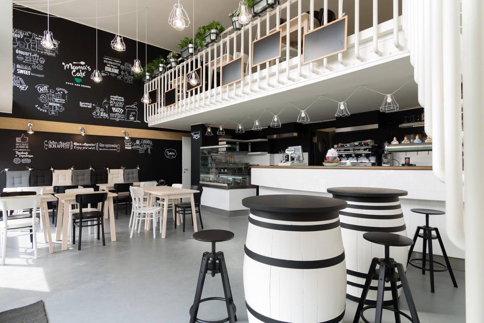 L'ambiente familiare del mama's cafè a milano by nomade ...