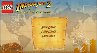 Lego Indiana Jones 2 The Adventure Continues ISO PPSSPP