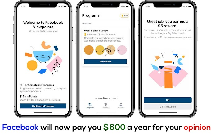 Facebook will now pay you $600 a year for your opinion