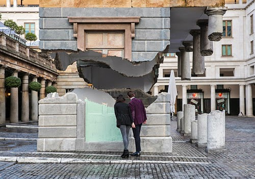 Alex Chinneck, Take my Lightning but don't steal my Thunder, Covent Garden, Londres