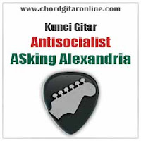 Chord Kunci Gitar Antisocialist Asking Alexandria