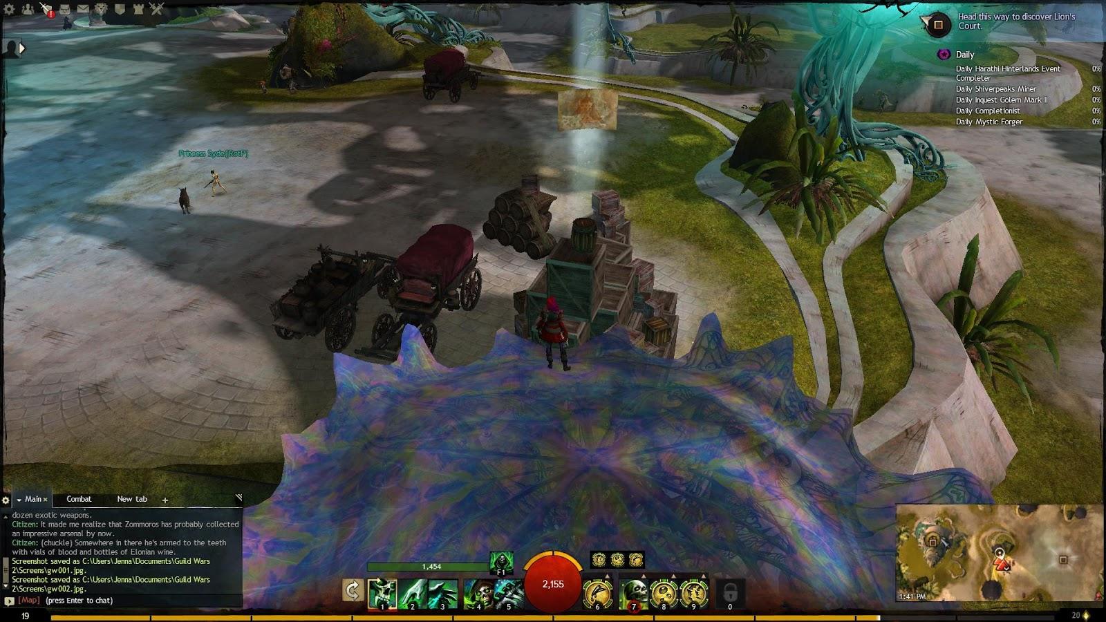 Gamer Waltz: GW2 New Lion's Arch Vista: Grand Piazza