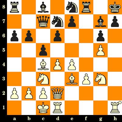 Les Blancs jouent et matent en 3 coups - Teodor Chipev vs Ionanidis, Varna, 1962