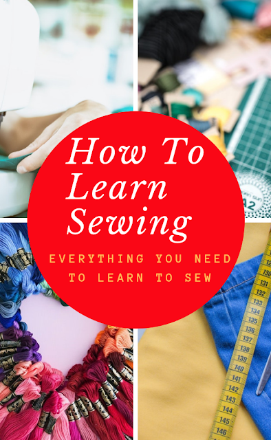 Everything you need to learn to sew