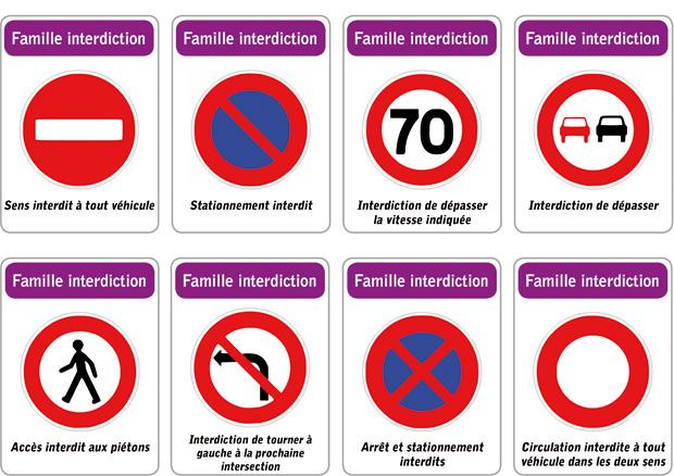 Znaki drogowe - znaki zakazu 3 - Francuski przy kawie