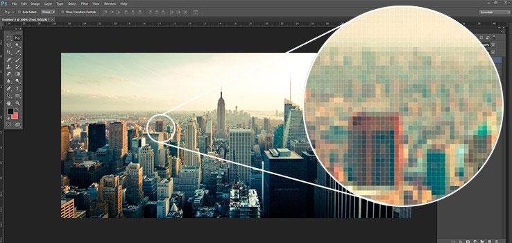Contoh Gambar Bitmap