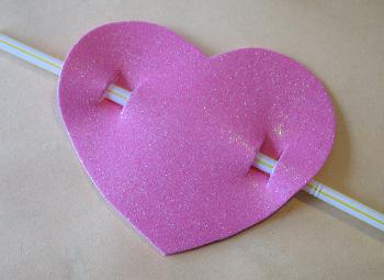 corazon con flecha atravesada
