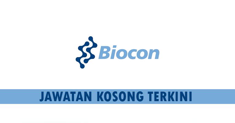 Kekosongan terkini di Biocon Sdn Bhd