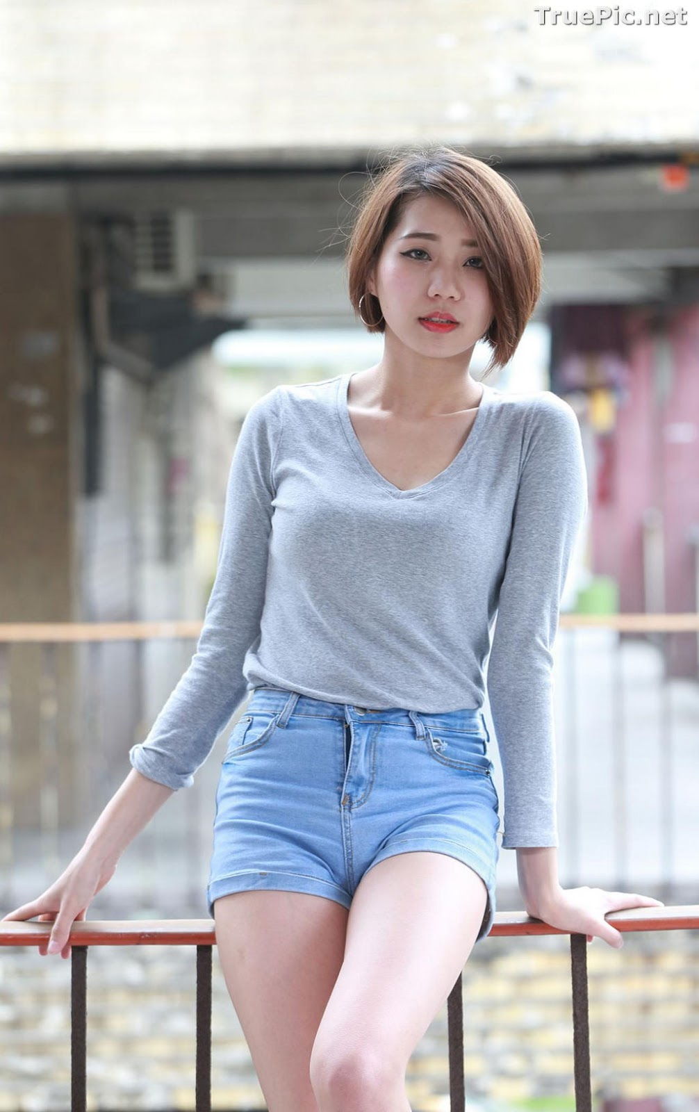 Image Pretty Taiwan Showgirl - 黃竹萱 - Beautiful Long Legs Girl - TruePic.net - Picture-8