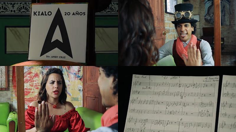 KIALO - ¨20 Años¨ - Videoclip - Director: Andy Cruz. Portal Del Vídeo Clip Cubano