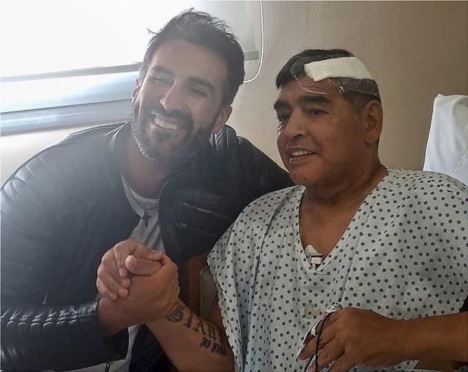 Μαραντόνα: Ήταν δεμένος στο κρεβάτι μετά την επέμβαση στο κεφάλι