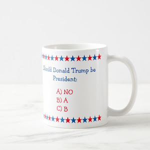 Should Donald Trump Be President Funny Political Coffee Mug