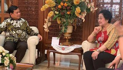 Pertemuan Megawati-Prabowo di Teuku Umar, Begini Suasananya