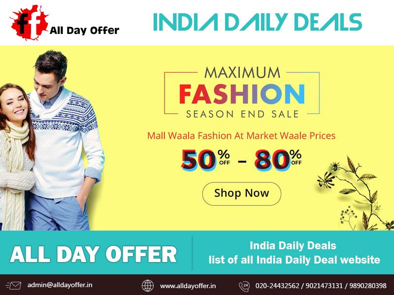 Online deals clothes