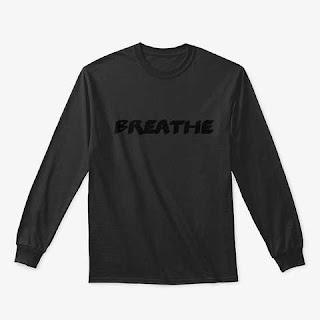 Breathe Classic Long Sleeve Tee Shirt Black