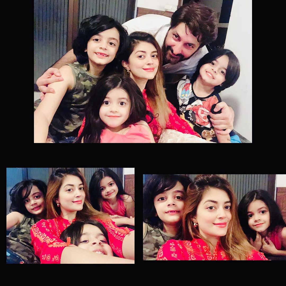 Syed Jibran Family with Wife Afifa Jibran New Awesome Pictures