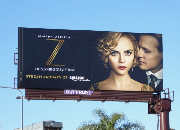 Z Beginning of Everything series premiere billboard